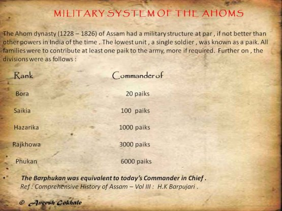 assam military