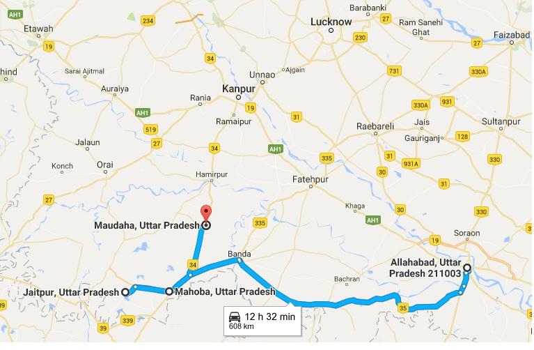 Bangash route