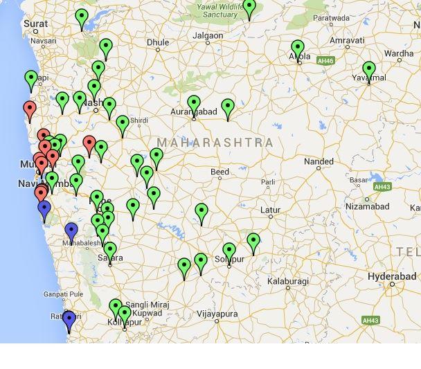 sambhaji map